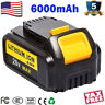 For DEWALT DCB206 20V 6.0Ah Max XR Lithium-ion Battery DCB205-2 DCB200-2 DCB204