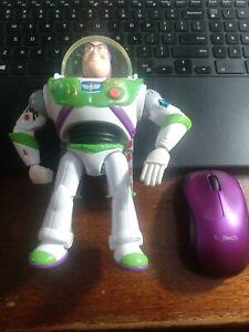 "Buzz Lightyear Talking Action Figure 12"" Name Written On Foot See Photos"