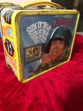 VINTAGE METAL 1970's LAUGH IN LUNCH BOx
