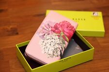 Ted Baker EVARA Dusky Pink Palace Gardens leather matinee purse