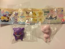 New Japan Bandai Pokémon Hasamundesu Mini Figure Clips Gengar and Mew US seller