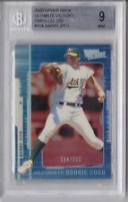 2000 Ultimate Victory Parallel Barry Zito 154/250 Rookie Graded BGS 9