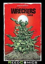TRANSFORMERS WRECKERS SAGA GRAPHIC NOVEL Paperback Collects BOTH 5 Part Series