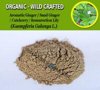 POWDER Aromatic Ginger Sand Cutcherry Resurrection Lily Kaempferia Galanga FRESH