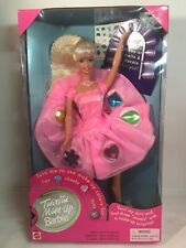TWIRLIN'  MAKE UP BARBIE doll turns and changes makeup plus more  NEW in box