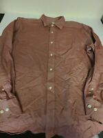 Banana Republic Mens Large Shirt Classic Fit Button Front Long Sleeve Striped