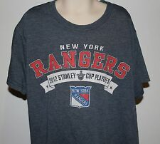New York Rangers 2012 Stanley Cup Playoffs Youth Small Gray T Shirt