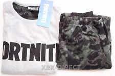 Primark Fortnite Boys Fleece Pyjamas PJ Set Size XL