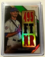 Kris Bryant 2016 Topps Triple Threads 7x Jersey Relics #d 4/18 card Chicago Cubs