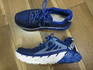 Hoka 1016303 Women's Blue Gaviota Running Shoes Sz 10 42 2/3 Missing Insoles!!