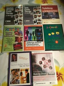 DVD FAMILY THERAPY, SATIR, SOLUTION-ORIENTATED, PSYCHOTHERAPY, PATENTING, DIVORC