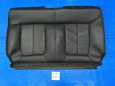 "2012 2013 2014 FORD F150 FX4 LEFT REAR SEAT COVER BACKREST BLACK LEATHER ""CREW"""