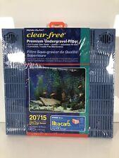 Premium Aquarium Undergravel Filter 20 Gallon Penn Plax Filters 10 Fish 55