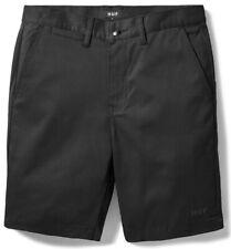 Huf Worldwide Footwear Skate Shoes Short Shorts Hose Fulton Classic Black in 28