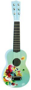 Vilac Kinder Gitarre Spielzeuggitarre Musik Instrument Holz Forrest- 8349