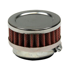 Scooter, Pocket Bike - Air Filter 44mm, Round Pancake - Chrome