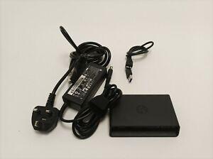 HP 3001PR USB 3.0 Port Replicator w/ VGA HDMI Inc PSU & USB3 cable inc VAT