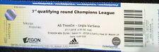 TICKET UEFA CL 2016/17 as Trencin-Legia Varsavia