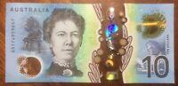 UNC AA17 First Prefix 2017 $10 Ten Dollar Note