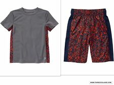 NEW GYMBOREE BOYS GYMGO ACTIVE WEAR  SHORTS & TOP OUTFIT NWT  SIZE XS  3/4