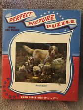 """Vintage Perfect Picture Jigsaw Puzzle """"First Scent"""" No. 29 W"""