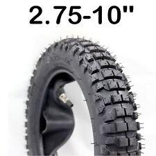 """2.75-10 10"""" INNER TUBE TYRE TIRE XR50 CRF50 PW 50 TTR 50 110 125 Dirt Pit BIKE"""