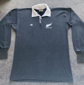 Canterbury New Zealand All Blacks Mid 80's Jersey Size 40