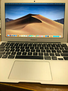 "Macbook Air 11"" 128 GB SSD 8 GB RAM. (2015)"
