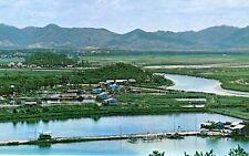 China Hong Kong Hongkong - Chumchun River from Luckmachow old chrome postcard