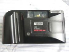 RICOH AF-100 35mm Camera Auto Focus Flash Point & Shoot black Vintage Pre-Owned