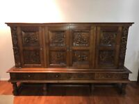 Oak Cupboard - Antique french furniture