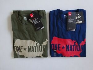 Under Armour Men's Freedom One Nation S/S Tactical Tee NWT Winter Line 2017