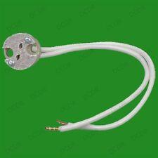 8x Mr16 Gu5.3 Ceramic Sockets, Halogen, Led Light Bulb, Lamp Holder Fitting Base