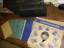 linguaphone  cours d'anglais 50 disques  vinyle 33T