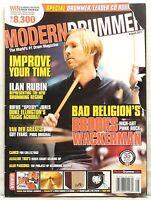 MODERN DRUMMER MAGAZINE BROOKS WACKERMAN BAD RELIGION ILAN RUBIN DUKE ELLINGTON!