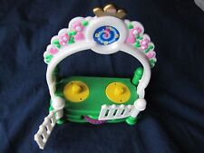 Fisher Price Little People PRINCESS CASTLE DANCE FLOOR Figures Can Spin ~ Fence