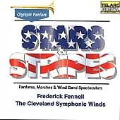 Stars & Stripes: Fanfares, Marches & Wind Band Spectaculars (CD, Aug-1984, Telar