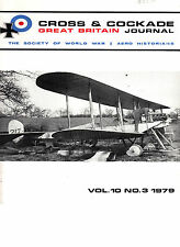 CROSS & COCKADE Great Britain Journal Vol 10 No3 1979 Fleeting Fighter R G Frith