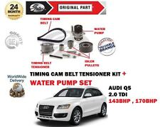 FOR AUDI Q5 2.0 TDI 143BHP 170BHP 2008--> TIMING CAM BELT KIT + WATER PUMP SET