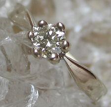 Like ✨ Brillantringe aus 750 Gold Ring mit 0,22 Ct. Brillant mit Diamant Solitär