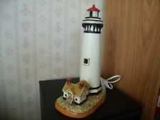 Vintage 1994 Geo. Z. Lefton Lighthouse Pigeon Point 1872 Lamp Excellent