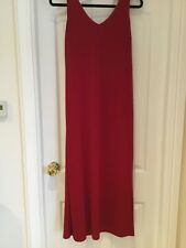 Ladies Principle Petite Red Long  Dress BNWT Size 12
