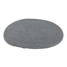 1 Stück Kreisförmig Tischset aus Baumwolle (30x40cm) weich und