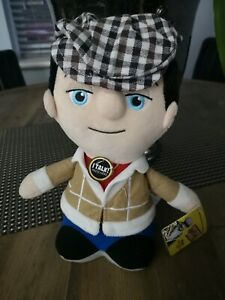 Only Fools and Horses Talking Soft Toy Plush Talks Collectable Del Boy NEW