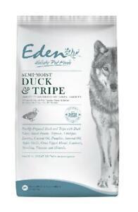 EDEN SEMI-MOIST DUCK AND TRIPE DOG FOOD 2KG