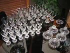 BEADED EDGE GLASSWARE CANDLEWICK STYLE  $1.50 Ea/$65 Lot