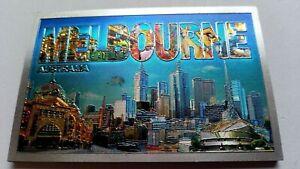 Melbourne souvenir Scene magnet NEW Australia Great Gift idea