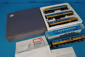 Marklin 3071 Diesel Train Set NORTHLANDER SCHWEIGER Special Production 4 pcs set