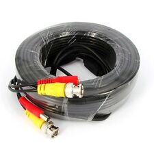 30 M CCTV Cable Security Camera Bnc Vidéo DC Surveillance DVR Data Extension Lead