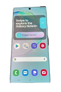Samsung Galaxy Note10 PLUS Aura Glow DEMO UNIT — See Description